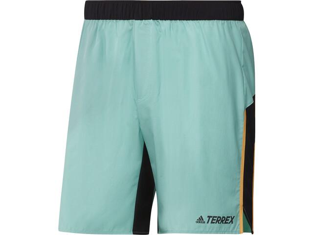 adidas TERREX Primeblue Trail shorts Herrer, turkis